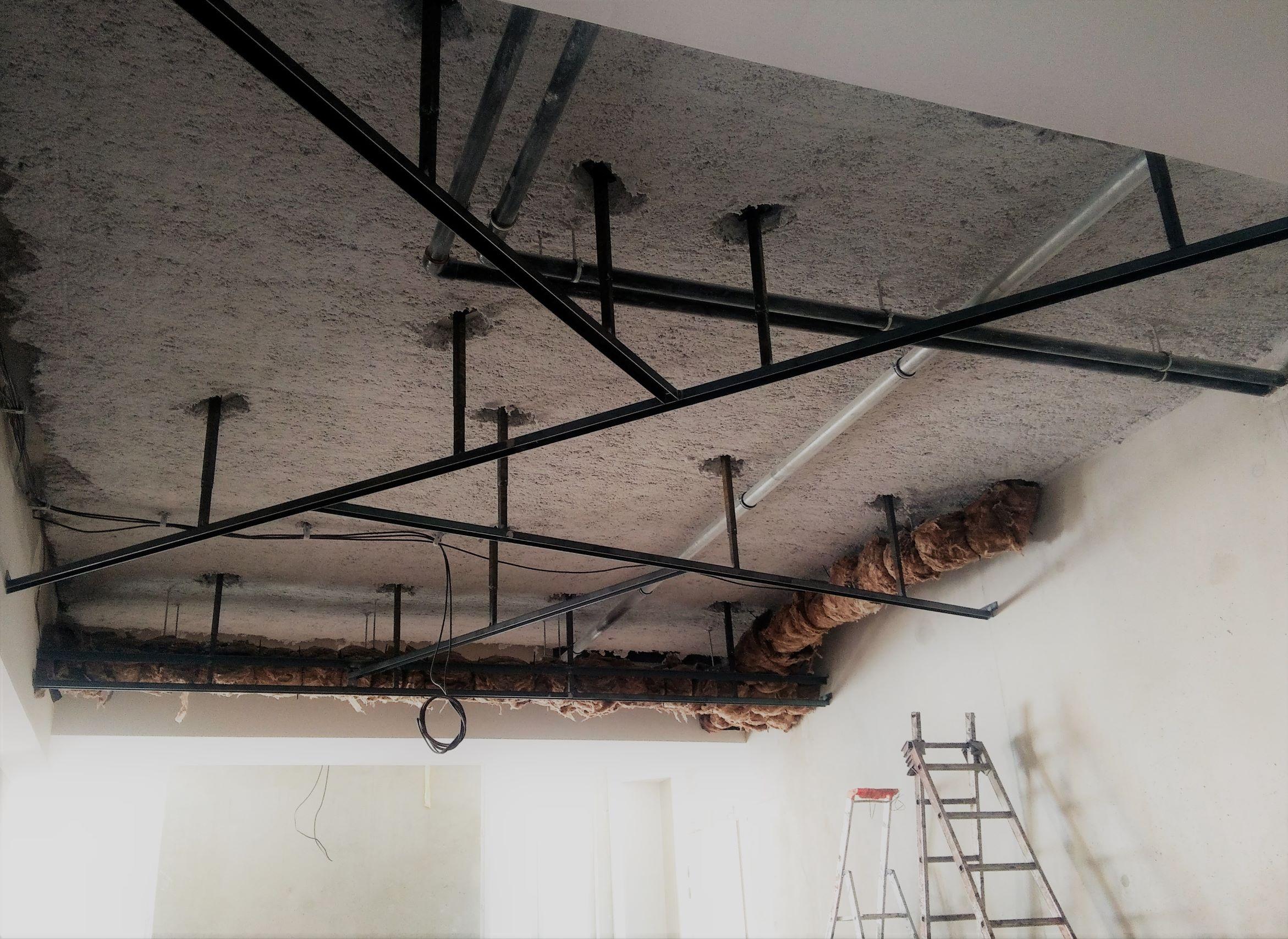 Inoxngo - plafond tendu chantier R