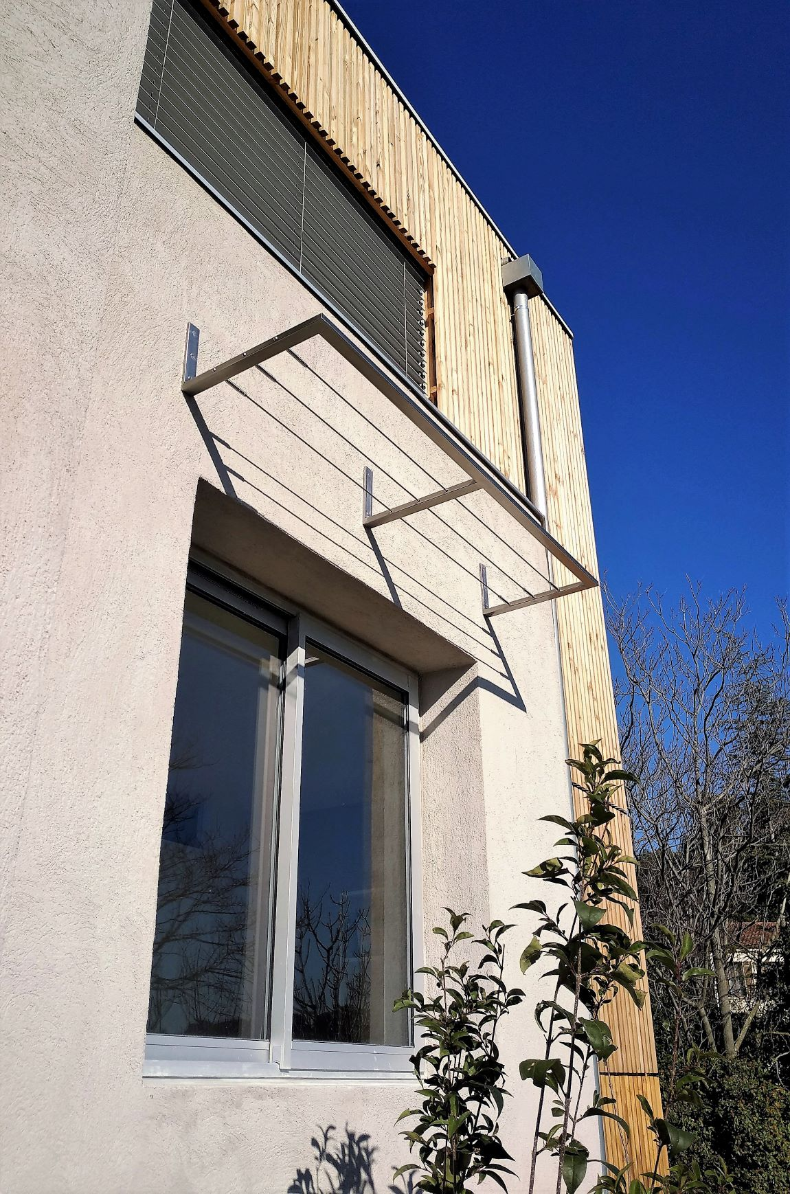 brise soleil inox 1R- Inoxngo ferronnier Marseille