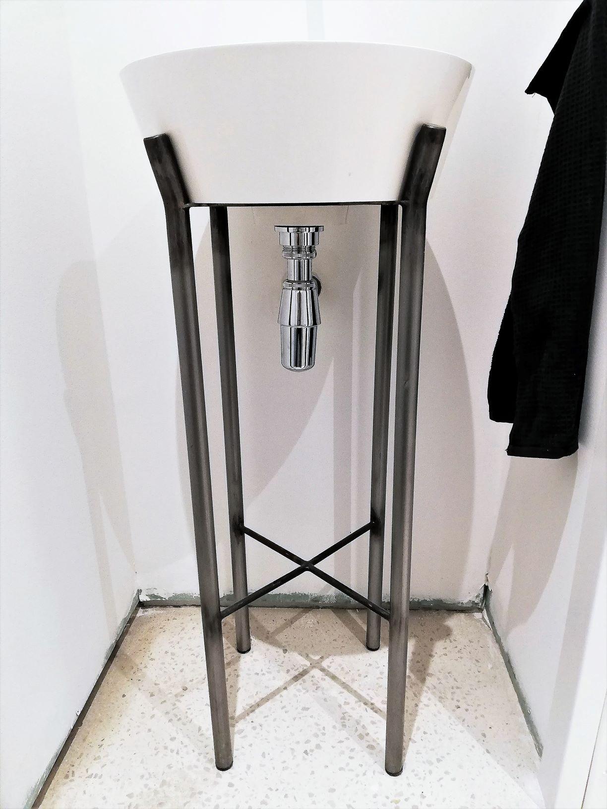 inxongo - support vasque acier 3R - ferronnier Marseille