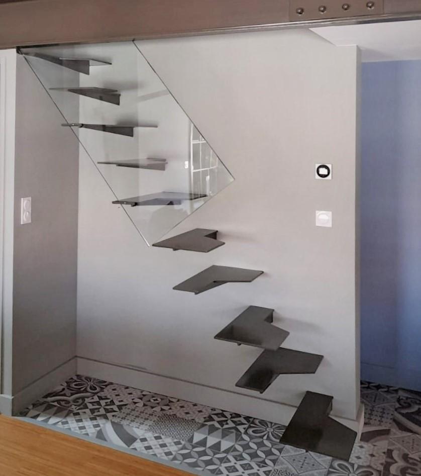 inoxngo ferronnier Marseille - escalier pas japonais 0