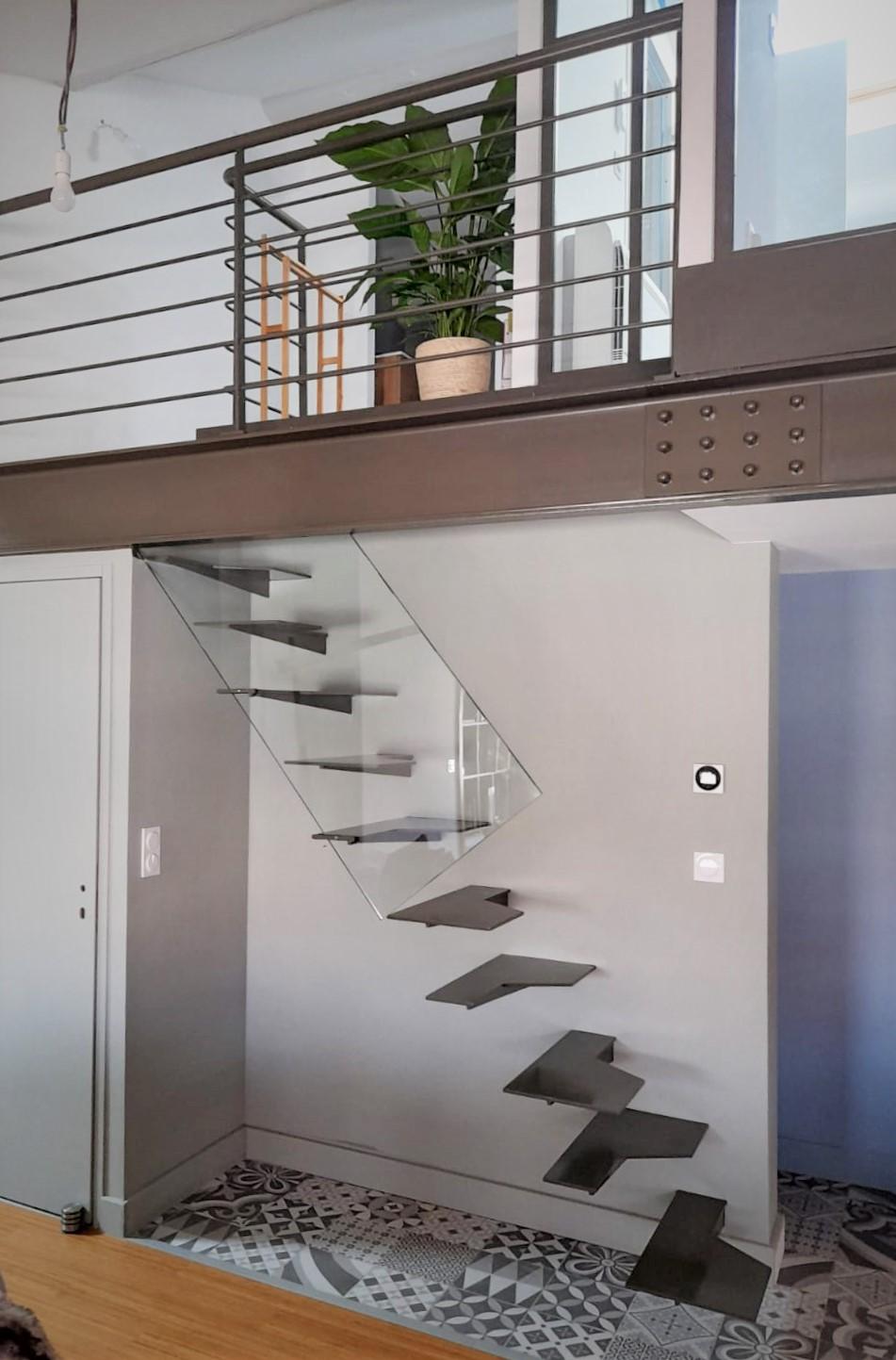 inoxngo ferronnier Marseille - escalier pas japonais 1