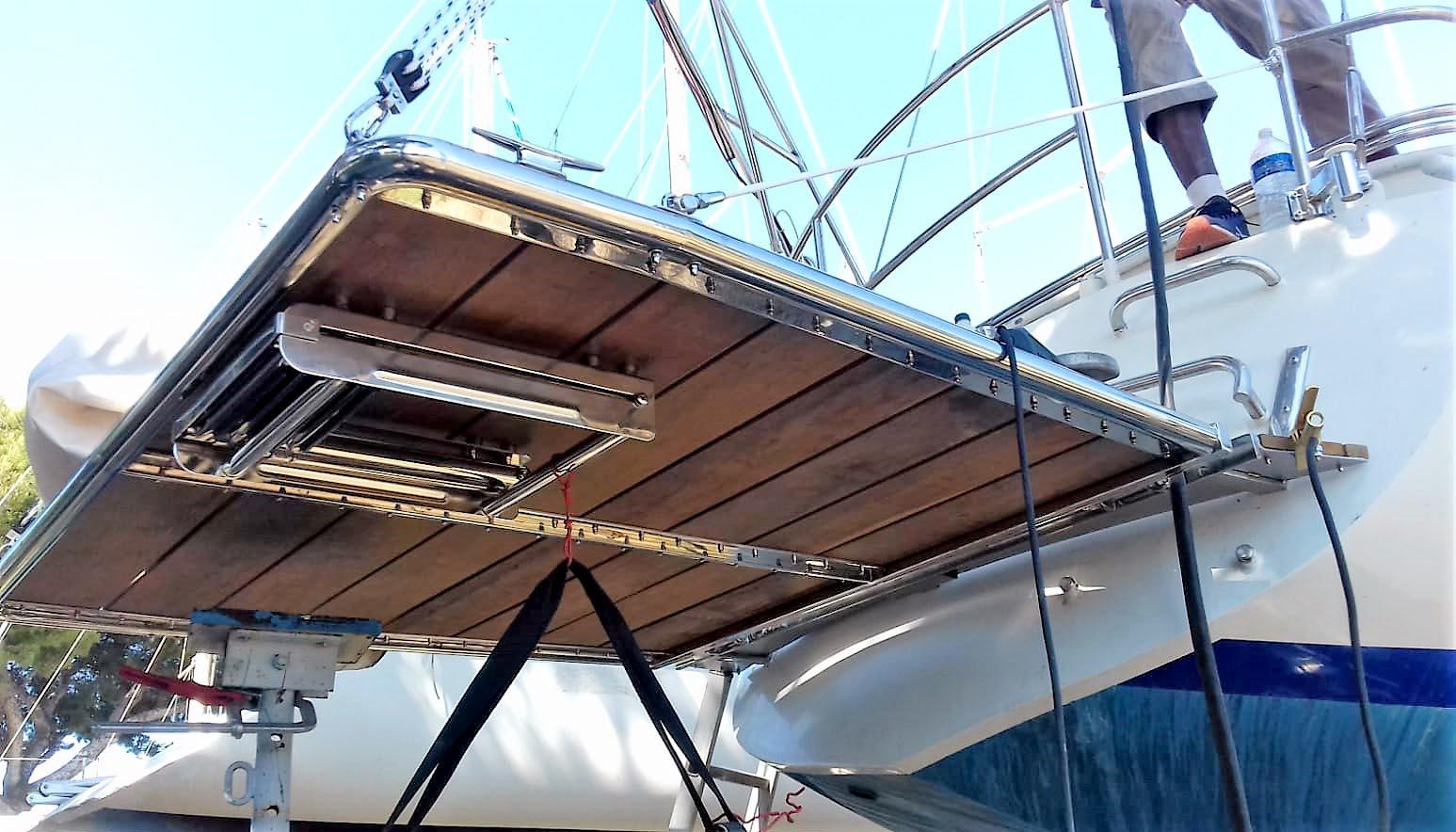 Ferronnier Dans Le Var yachting - inoxngo travaux sur-mesure yacht et bateaux inox